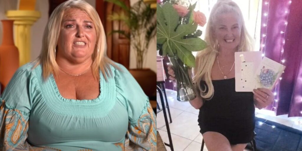 90 Day Fiancé's Angela Deem has revealed that she has lost 90 pounds after undergoing weight loss surgery, liposuction, and a breast reduction. I'm sure that was quite the journey for Angela!